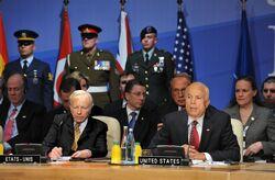 McCain NATO Summit Strasbourg-Kehl 2009