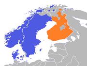 Scandinavia Population - Finland