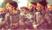 Iran army in K