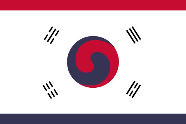 File:Flag of Korea (Satomi Maiden ~ Third Power).png