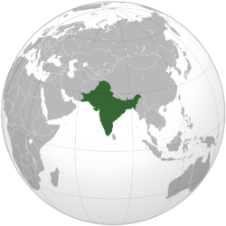 India Orthographic DownDifPath