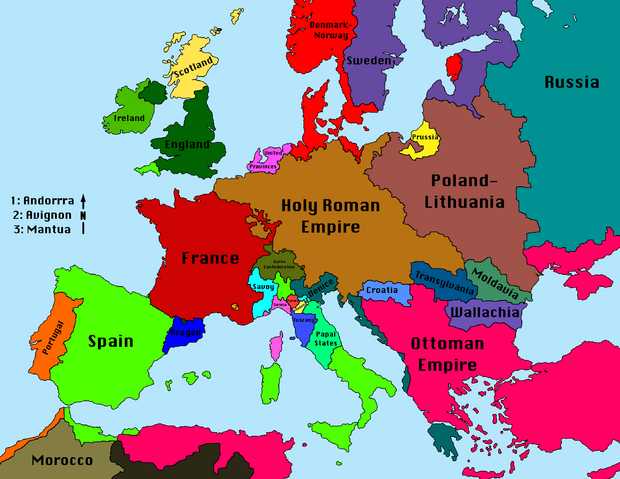 File:Map of Europe 1680 (VOE).png