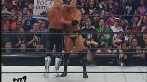Wrestlemania x8 The Rock vs Hollywood Hulk Hogan