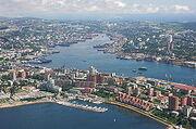 250px-Center of Vladivostok and Zolotoy Rog