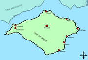 400px-Isle of Wight Map