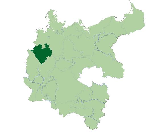 File:Deutschland Lage von Westfalen.png