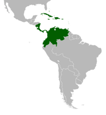 AMP Map of Gran Colombia