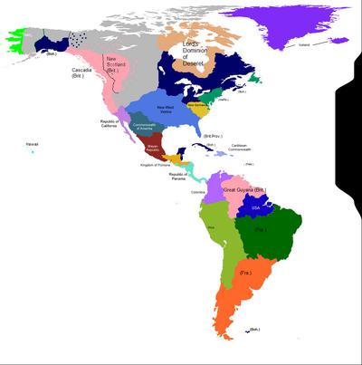 1666 - Americas