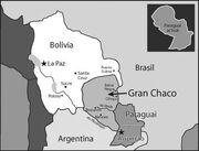 Disputed Bolivia Paraguay