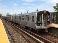 Manhattan bound R143 L train at New Lots