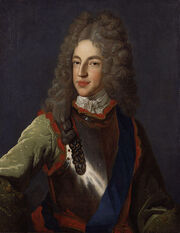 James Francis Edward Stuart by Alexis Simon Belle