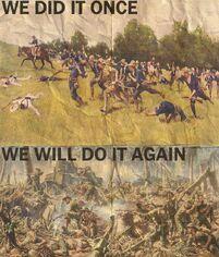 We Did it Once Propaganda