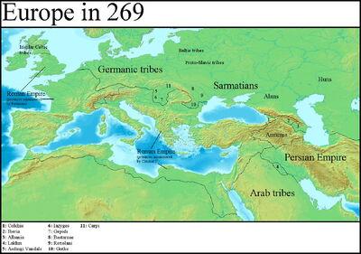 Europe in 269 (Gaul Rising)