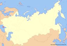 Location of Crimea (New Union)