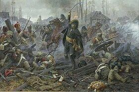 General Delzons at Maloyaroslavetz by Avierianov