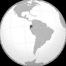 Ecuador Green and Gray