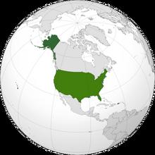 USA orthographic (america type beta)
