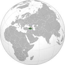Map of Armenia (The British Ain't Coming)