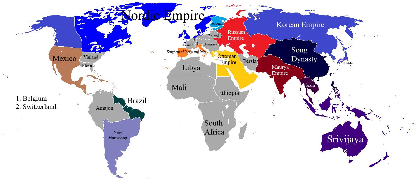 Image of: Map World Empires Furosemide