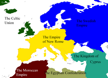 Alt History 1, Europe Map Sections