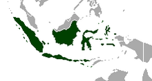 Map of Indonesia (Yellowstone 1936)