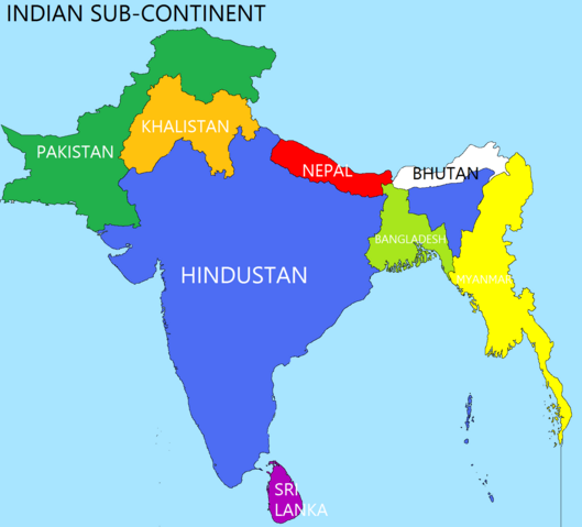 File:Indian Sub-Continent (Changed History).png