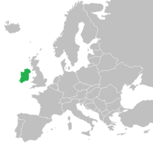 Location of Ireland (The Big Mistake)