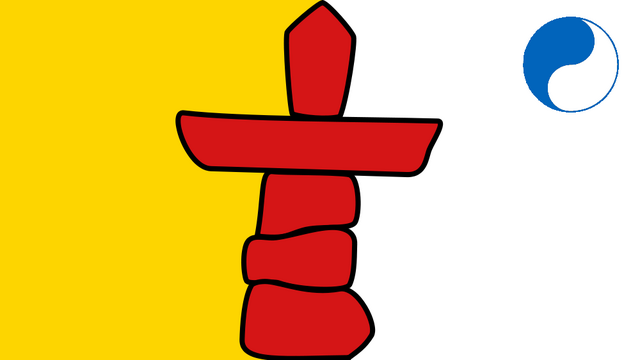 File:Flag of Nunavut (Satomi Maiden ~ Third Power).png