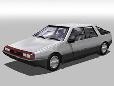 DeLorean S-1 series sedan