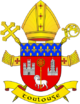Coat of Arms of archdiocese of Toulouse