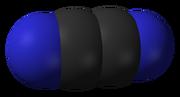 Cyanogen molecule