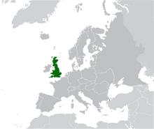 AMP Map of the United Kingdom VII