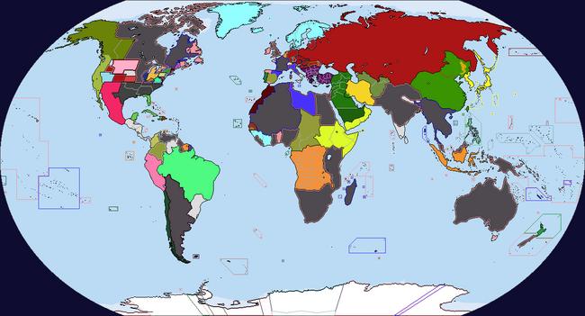 Diversa Pars Map Game 1939 Map