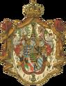 Wappen Deutsches Reich - Grossherzogtum Sachsen-Weimar-Eisenach