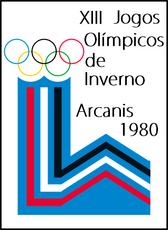 1980 Winter Olympics Logo
