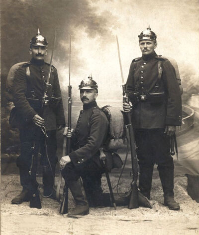 Prussian soldiers