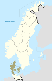 Sjaelland Map