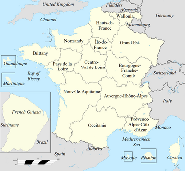 France Subdivisions SSY Labels