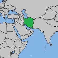 Iran (Mughal Glory)