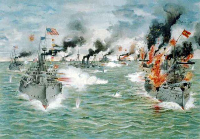 File:Naval battle Spain.jpg
