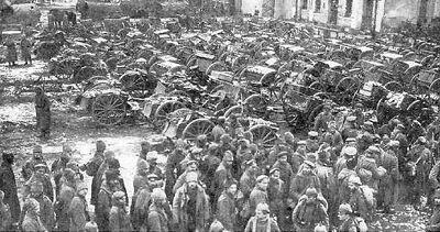 Russian prisoners tannenberg