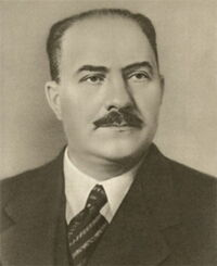 Lazar Kaganovich portrait