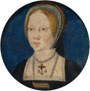 Mary Tudor by Horenbout