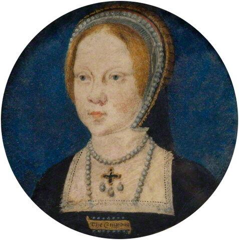 File:Mary Tudor by Horenbout.jpg