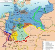 Планы Антанты по расчленению Германии
