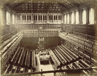 Old House of Commons chamber, F. G. O. Stuart
