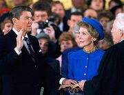 Reagan inauguration