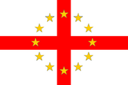 640px-Flag of European Federation England