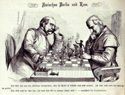 Kladderadatsch 1875 - Zwischen Berlin und Rom