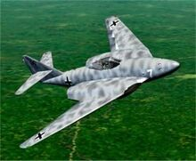 Cfs2 messerschmitt ab me 262 hg3